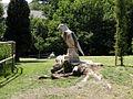 Tree sculpture in Alexandra Park - geograph.org.uk - 1377261.jpg