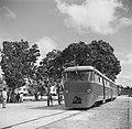 Trein van de Surinaamse Landsspoorwegen die gebruikt werd voor het vervoer van h, Bestanddeelnr 252-4318.jpg