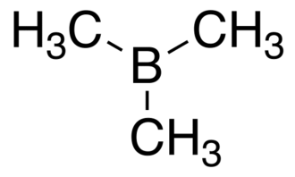 Trimethylborane - Image: Trimethylborane