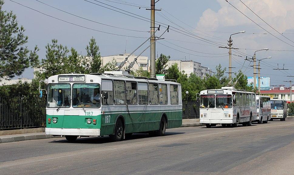 Trolleybus Sevastopol 2012 G2