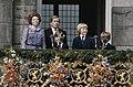 Troonswisseling 30 april na abdicatie verschenen Koningin beatrix en Prinses J, Bestanddeelnr 253-8189.jpg