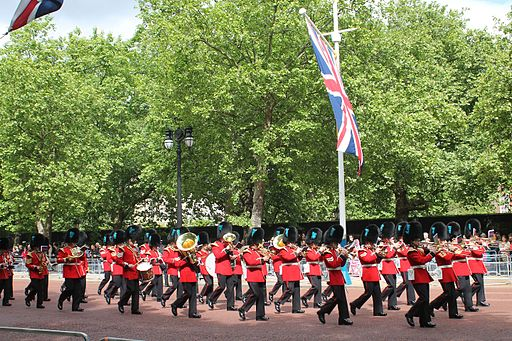 Trooping the Colour June 2013
