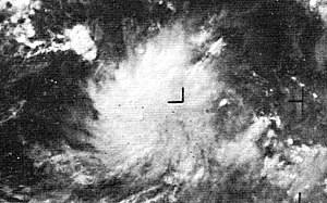 1970 Pacific hurricane season - Image: Tropical Depression Dolores 1970