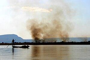 Fire on Tsiribihina