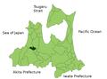 Tsuruta in Aomori Prefecture.png