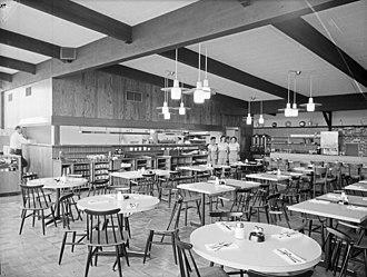 Pancake house - Image: Tukwila Clark's Pancake house 1960