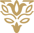 Tulips Two Ornament Gold.png