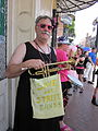 Tumblers at Pride 2010 Save Our Street Bands.JPG