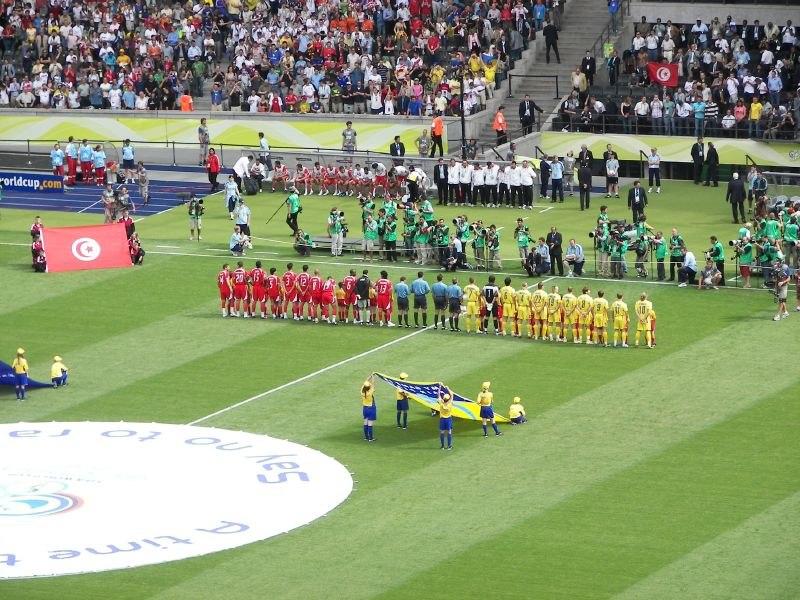 Tunesien gegen Ukraine im WM 2006