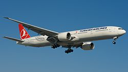 Boeing 777-300ER der Turkish Airlines