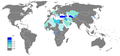 Turkish Wikipedia Page views ratio by country 201101-201112.png