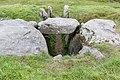 Tustrup gravpladsen (Norddjurs Kommune).Jættestue.Manglende dæksten.47886.ajb.jpg