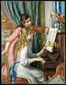 Two Young Girls at the Piano MET DT3131.jpg