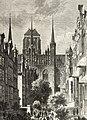 Tylna część Kościoła Panny Marii - Kłosy, 1874 nr 495.jpg