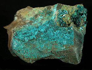Tyrolite - Image: Tyrolite 256893