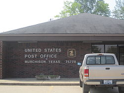 U.S. Post Office in Murchison, Texas