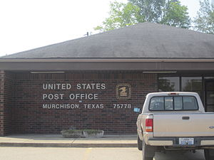 Murchison, Texas - U.S. Post Office in Murchison, Texas