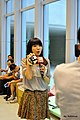 UBN journalist with Gamma Sheep at COSCUP 20110820.jpg