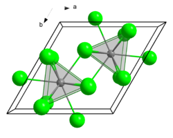 The crystal structure of uranium triclorua