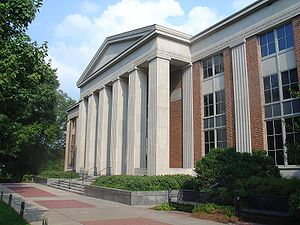 University of Georgia - Ilah Dunlap Little Library, one of thirteen libraries containing 5.7 million volumes at the University of Georgia