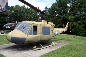 82nd Airborne Division War Memorial Museum - Bell UH-1A Iroquois.