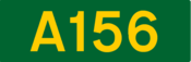 A156 road shield