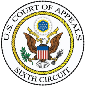American Civil Liberties Union v. National Security Agency - Image: US Court Of Appeals 6th Circuit Seal