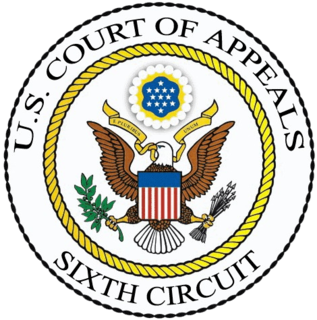 United States Court of Appeals for the Sixth Circuit Federal Appeals Court