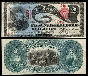 $2 National Bank Note