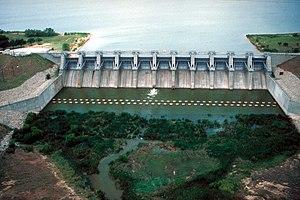 Proctor Lake - Image: USACE Proctor Dam Texas