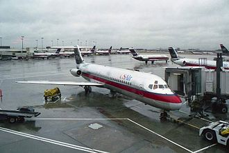 US Airways - Douglas DC-9 in USAir livery (used from 1989–1997)
