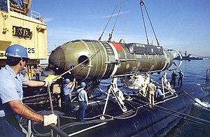 Mystic-class deep-submergence rescue vehicle - U.S. Navy Deep-Submergence Rescue Vehicle (DSRV) Mystic