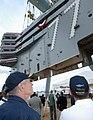 USS George H. W. Bush (CVN-77) island landing.jpg