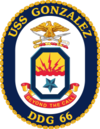 USS Gonzalez DDG-66 Crest.png