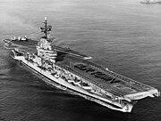 USS Hancock (CVA-19) in San Francisco Bay in September 1957 (2)