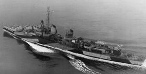 USS Harry F. Bauer - Harry F. Bauer in 1944.