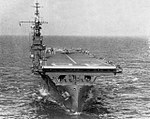 USS Saipan (CVL-48) underway in the Gulf of Mexico, circa in 1946.jpg