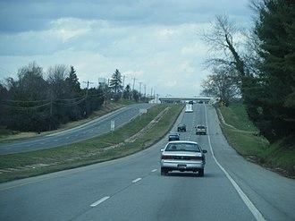 U.S. Route 13 in Delaware - Northbound US 13 past DE 896