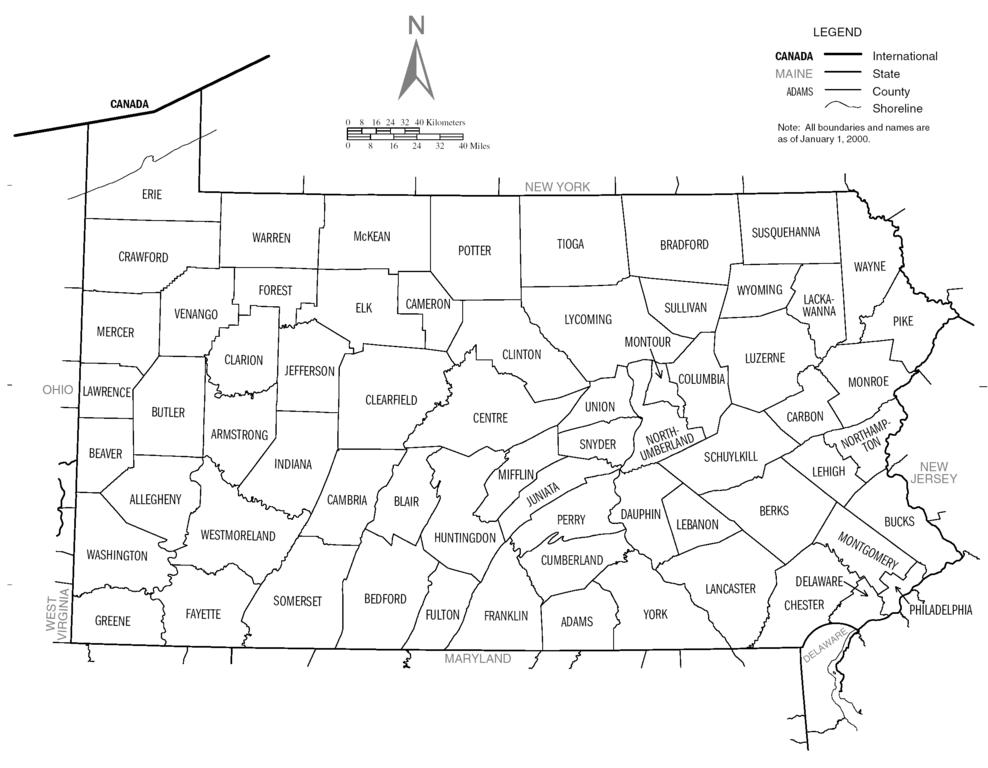 FileUS Census Bureau Pennsylvania County Mappng Wikimedia Commons - Us census map