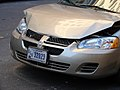 US Government wrecked Dodge Stratus in Manhattan, 2005.jpg