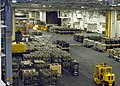 US Navy 040424-N-7695R-001 The hangar bay aboard USS John F. Kennedy (CV 67) is full with ammunition after an underway replenishment with the fast combat support ship USS Seattle (AOE 3) and USS Enterprise (CVN 65).jpg