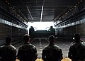 US Navy 070901-N-2638R-009 Sailors from Beach Master Unit (BMU) 1 stand by as a landing craft air cushion (LCAC) enters the well-deck of dock landing ship USS Tortuga (LSD 46) during a Japan and Tokyo Metropolitan Government di.jpg