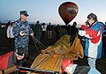US Navy 111008-N-BX435-013 Engineman 1st Class David Litchko, assigned to Navy Operational Support Center Albuquerque, assists a balloon team durin.jpg