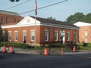 United States Post Office (Attica, New York) - U.S. Post Office, July 2011