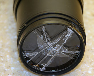UV filter - A UV filter was used to protect the lens from damage