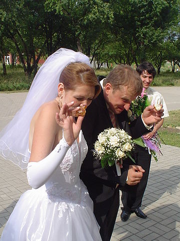Ukrainian Bride And Groom Enter 60