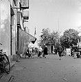 Ulica Tomása Garrigue Masaryka a református templom felé nézve. Fortepan 53978.jpg
