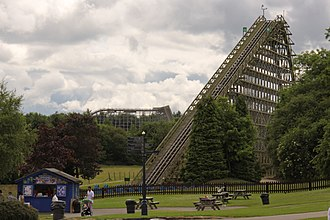 Lightwater Valley - The Ultimate, the main attraction at Lightwater Valley.