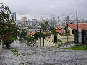 Campina Grande - The Alto Branco neighbourhood