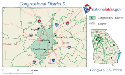 Georgia s 5th congressional district Wikiwand
